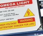 Блок розжига omega light (толстый блок), бу