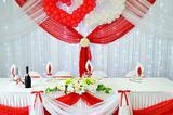 Оформлениение свадьбы, юбилея и других праздников